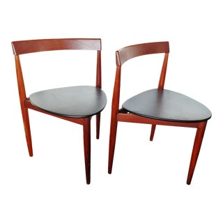 Hans Olsen for Frem Rojle Dining Chairs Made in Denmark - a Pair For Sale