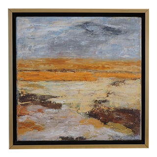 """""""Destination Unknown"""" Abstract Landscape by Laurie MacMillan For Sale"""