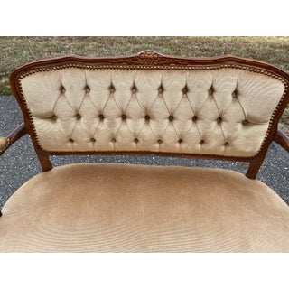 1940s Vintage Petite Settee Preview