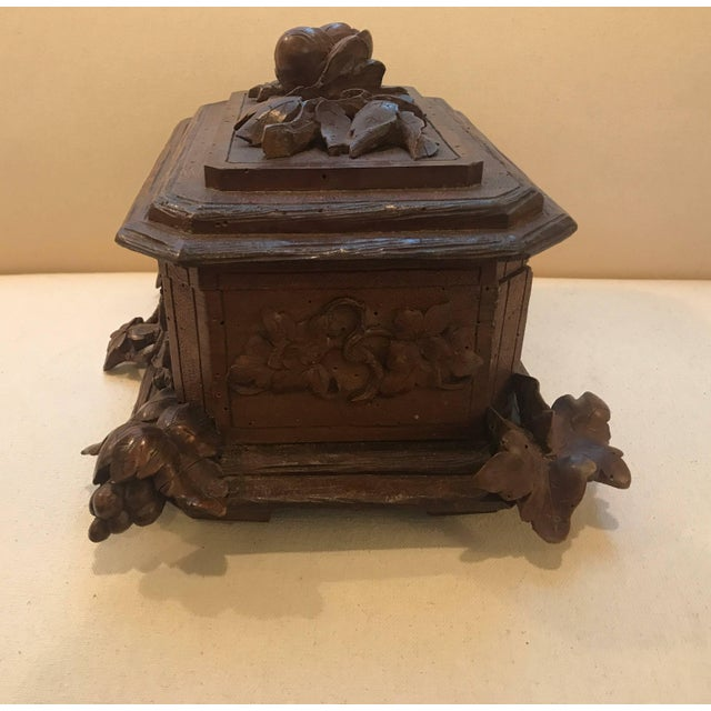 Black Forest Hinged Box For Sale In Philadelphia - Image 6 of 11