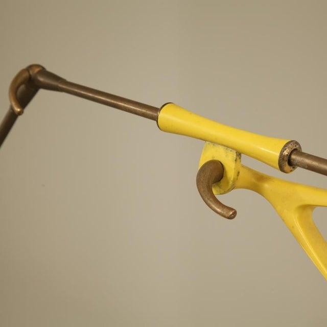 Stilnovo Yellow Metal Extendable Kite Lamp. Italy, 1950s - Image 6 of 6