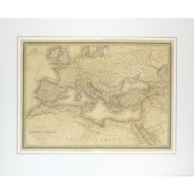 Antique Roman Empire Map, 1838 - Image 4 of 4