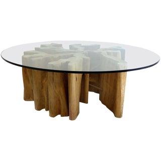 Brazilian Amazon Guaranta Wood Table Base For Sale