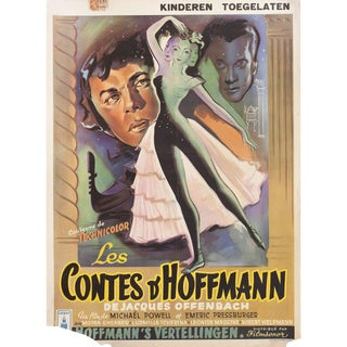 The Tales of Hoffmann 1951 Belgian Film Poster For Sale