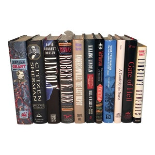 Civil War History Books - Set of 11