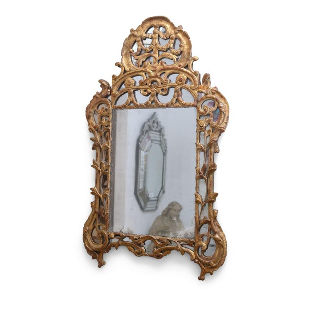 Early 18th Century Regence Period Giltwood Mirror For Sale - Image 5 of 11