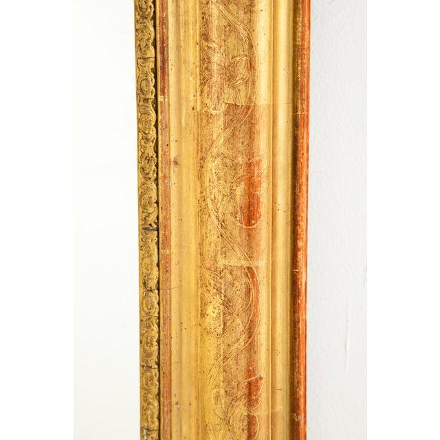 Mid 19th Century 19th Century Gilt Louis Philippe Mirror For Sale - Image 5 of 6