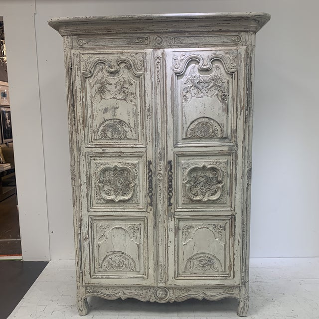 Early 19th Century Antique French Armoire For Sale - Image 11 of 11
