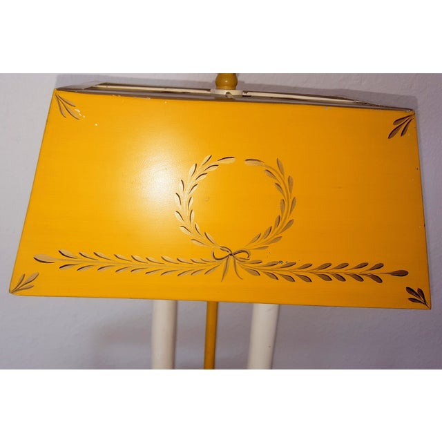 Golden Tole Desk Lamp - Image 4 of 6