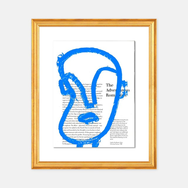 Virginia Chamlee The Adventurous Romantic by Virginia Chamlee in Gold Frame, Small Art Print For Sale - Image 4 of 4