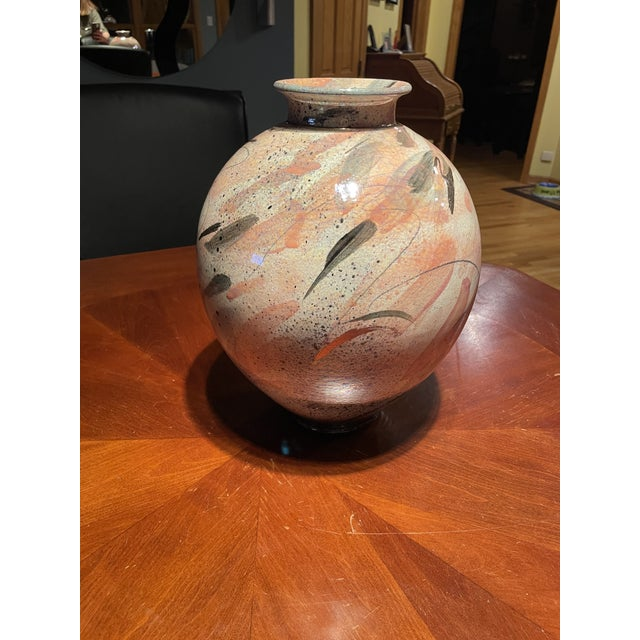 1980s 1980s Ceramic Malloy Vase by Gary McCloy For Sale - Image 5 of 5