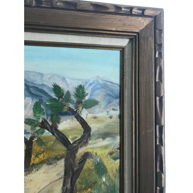 1970s Vintage Plein Aire Signed Oil Painting on Canvas For Sale - Image 5 of 8