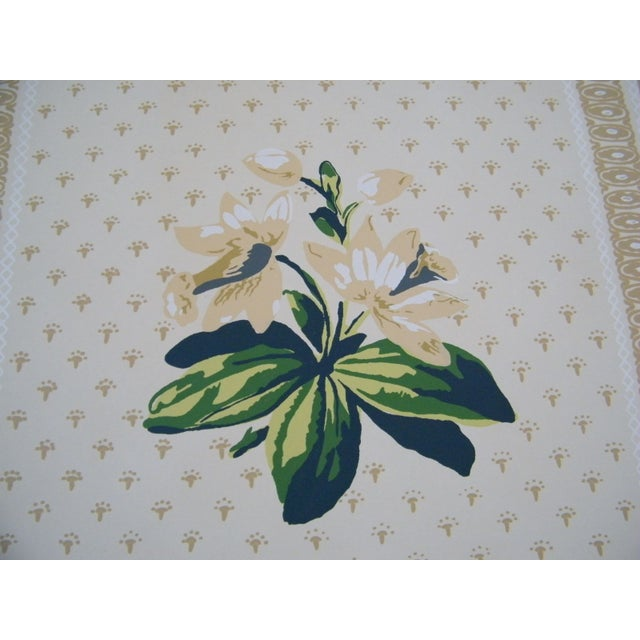 Vintage Wallpaper Roll - The Twigs Floral - Image 3 of 8
