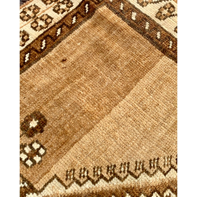 "1950's Vintage Persian Gabbeh Area Rug 4'x7'9"" For Sale - Image 9 of 13"
