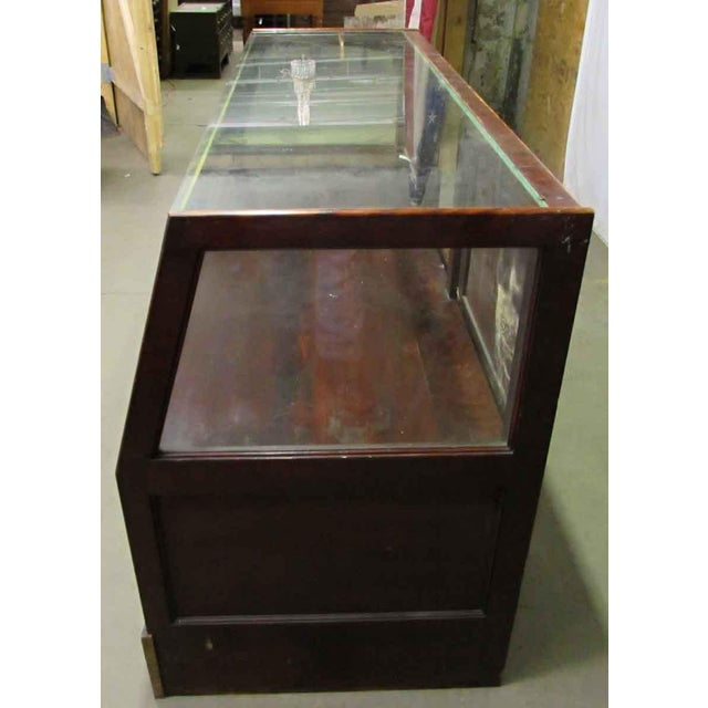 Glass MC Lean Mfg. Co. Display Case c. 1921 For Sale - Image 7 of 8