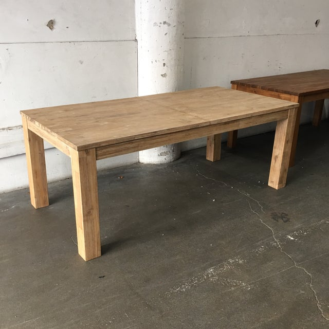 N.P.D. Bedford Butterfly Dining Table in Brushed Smoke For Sale - Image 5 of 9