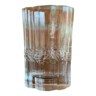 Tapio Wirkkala for Iittala Pallas Glass Vase For Sale