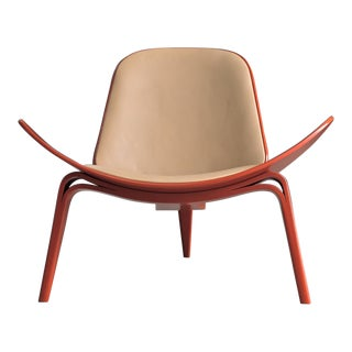 Hans Wegnar Shell Chair for Carl Hansen