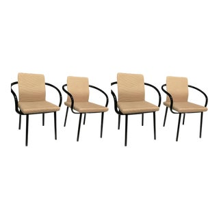 Mid Century Modern Ettore Sottsass for Knoll - Set of 4 For Sale