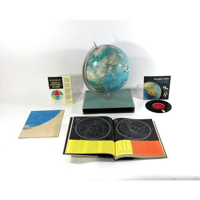 1960s Rand McNally New World Portrait Globe Set - Image 2 of 7