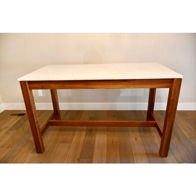 Room & Board Linden Dining Counter Bar Table For Sale - Image 9 of 9