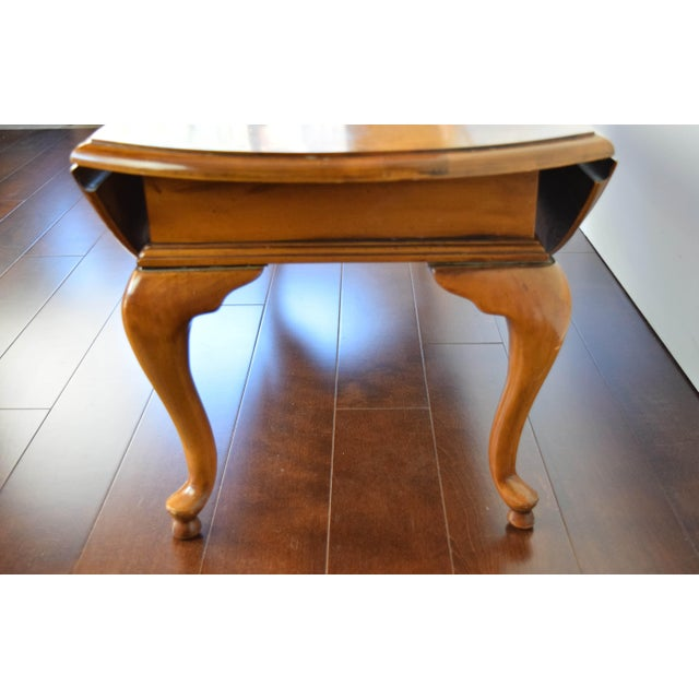 Queen Anne Oval Coffee Table - Image 5 of 11