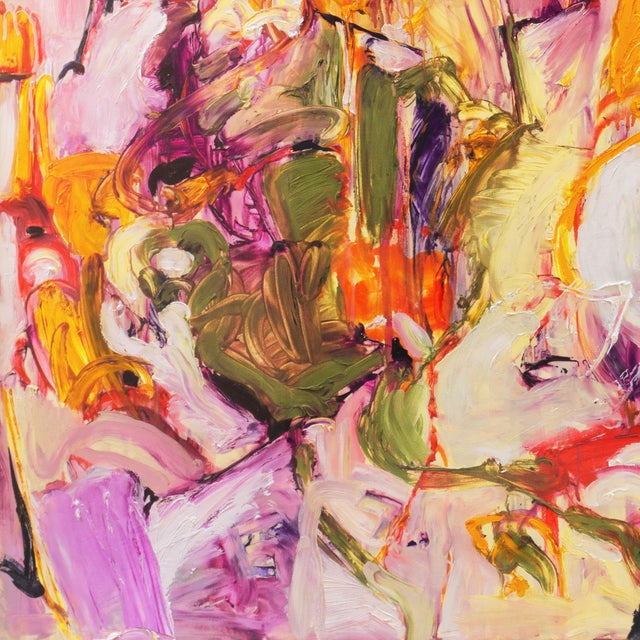 1990s Summer Garden by Elke Behrens, 1994 For Sale - Image 5 of 13