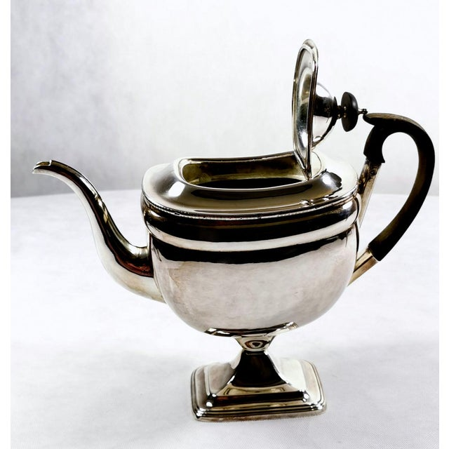 1820-1830 Sheffield Plate George IV Coffee Pot For Sale - Image 6 of 10
