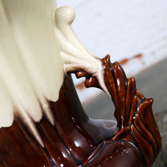 S and G Keramik Monumental Classic Style German Ceramic Floor Vase For Sale - Image 10 of 11