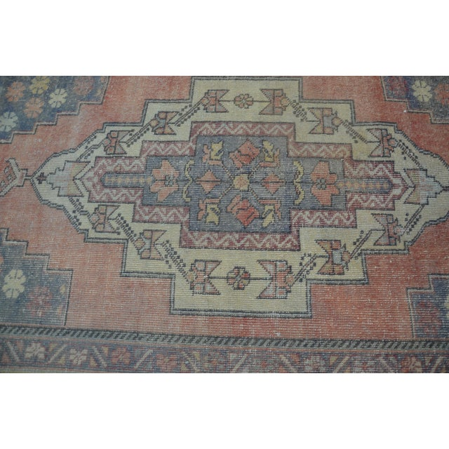 Turkish Tribal Floor Rug - 4′9″ × 8′10″ - Image 5 of 6