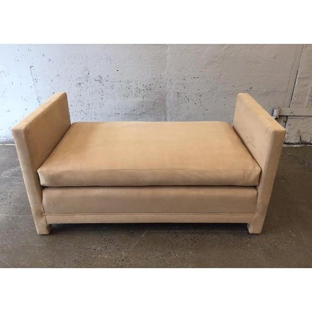 Milo Baughman Flavor Custom Originals Oversized Bench For Sale - Image 4 of 7