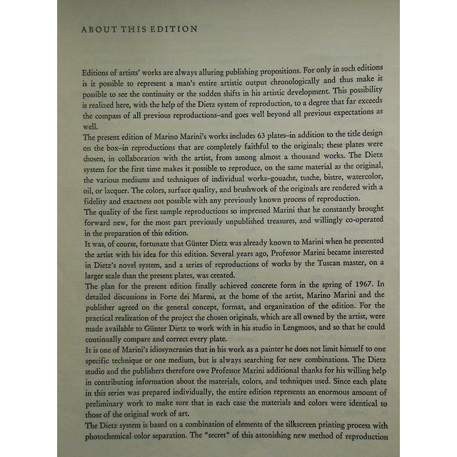 Marino Marini Limited Edition Mid-Century Print For Sale - Image 4 of 5