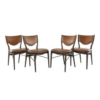 Model Bo-63 Side Chairs by Finn Juhl for Bovirke, 1952 - Set of 4 For Sale