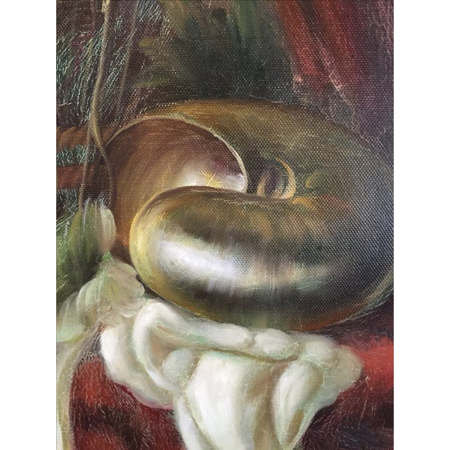 Fruit Still Life Oil Painting - Image 6 of 6