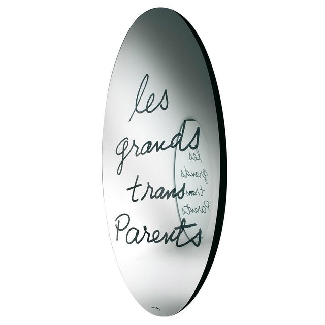 """French """"Les Grands Trans-Parents"""" Mirror by Man Ray 