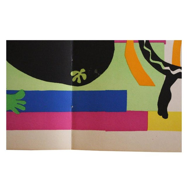 "1952 ""Tristesse Du Roi"" Original Lithograph by Henri Matisse For Sale - Image 5 of 6"