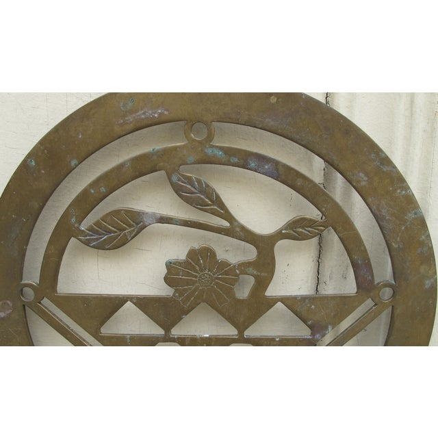 Brass Art Deco Candle Holders - A Pair - Image 3 of 5