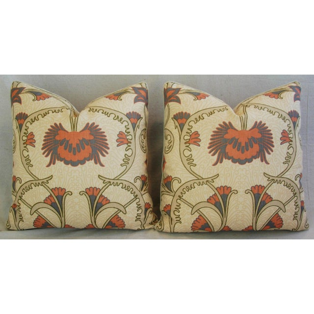 Designer Home Couture Contessa Linen Pillows - A Pair For Sale In Los Angeles - Image 6 of 10
