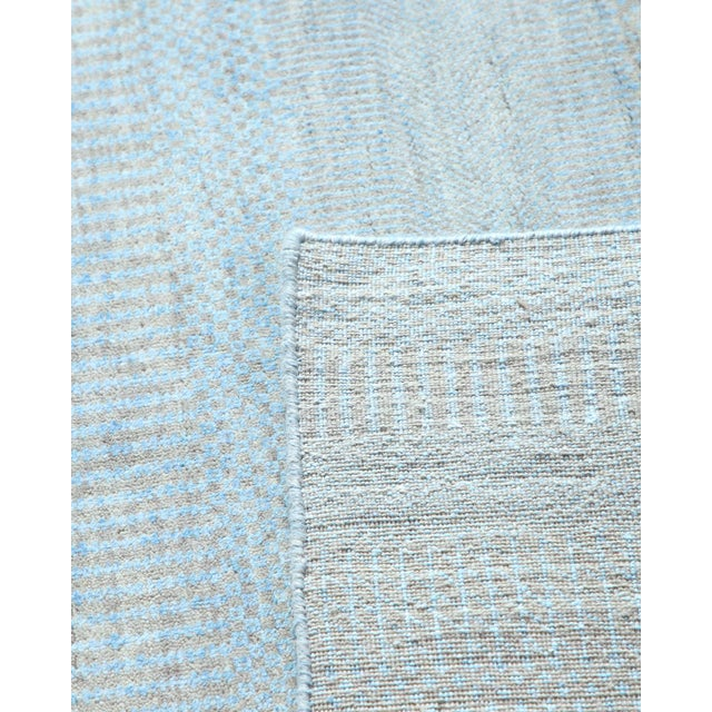"""Contemporary Hand Loomed Area Rug 7' 11"""" x 9' 11"""" For Sale - Image 4 of 9"""