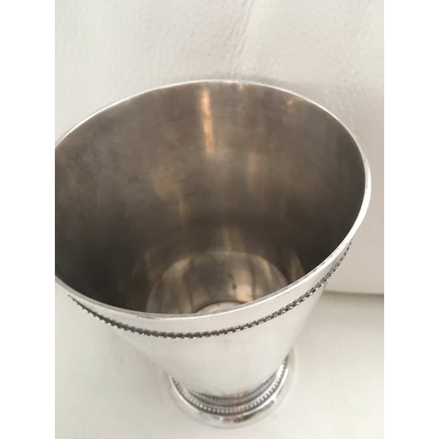 Traditional Silver-Plated Vase - Image 3 of 5