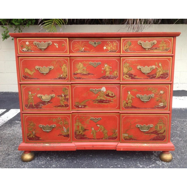 Chinoiserie Chinoiserie Chest by Baker For Sale - Image 3 of 13