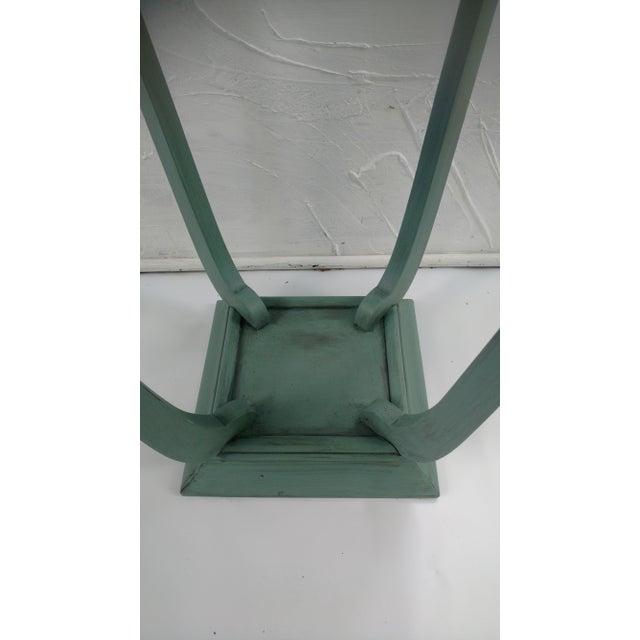 Blue Glazed Side Table - Image 5 of 6
