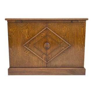Mid-Century Bar Cabinet by Ronnie Brahms for Sacks & Sons For Sale