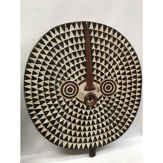 African Tribal Art Large Plank Bwa Mask - Image 4 of 6