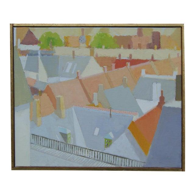 """""""Modern Cityscape"""" by Sven Enselmann For Sale"""