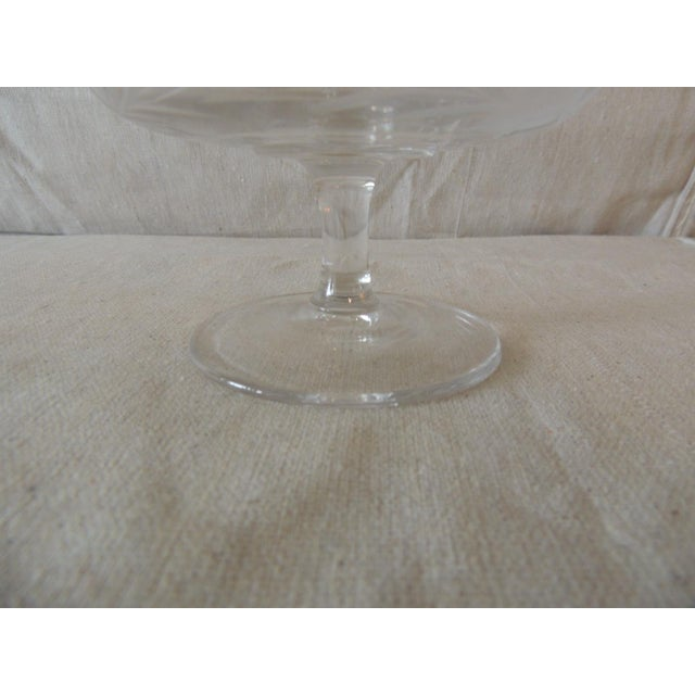 Traditional Vintage Cut Crystal Footed Candy Dish For Sale - Image 3 of 6
