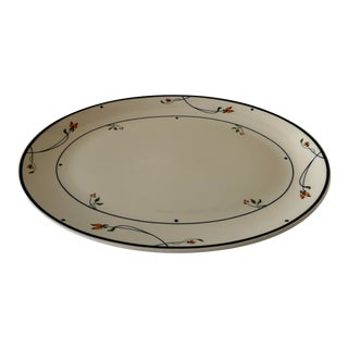 1980s Gorham Ariana Oval Serving Platter For Sale