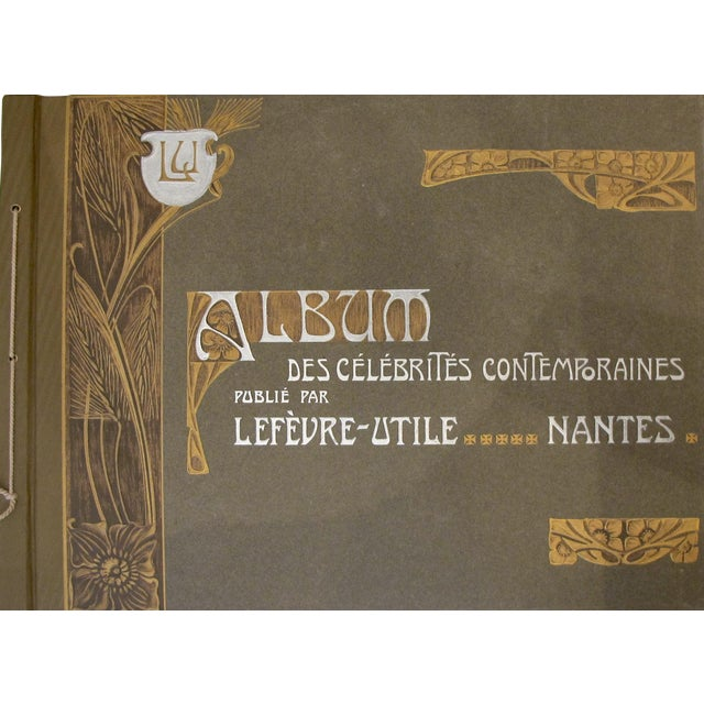 Complete Album Vintage French Biscuits Lu Postcards, 1905 - Image 1 of 5