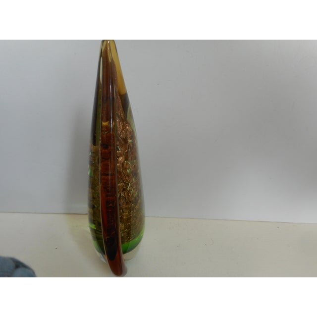 Murano Glass Tear Drop Sculpture - Image 3 of 4