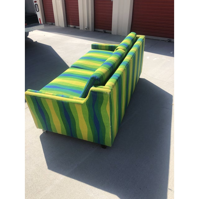 Mid-Century Vintage Pull-Out Bed Love Seat For Sale In Palm Springs - Image 6 of 12